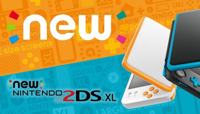 Nintendo France : 'Le 28 juillet, Nintendo va lancer une nouvelle console portable, la New Nintendo 2DS XL'