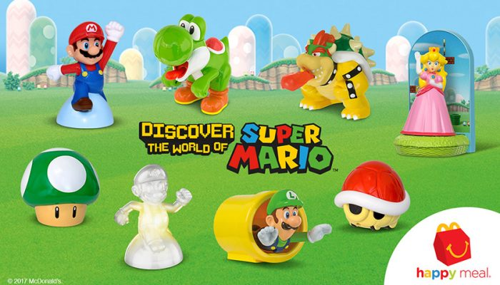 NoA: 'McDonald's Happy Meals Power Up with toys based on Mario and friends'