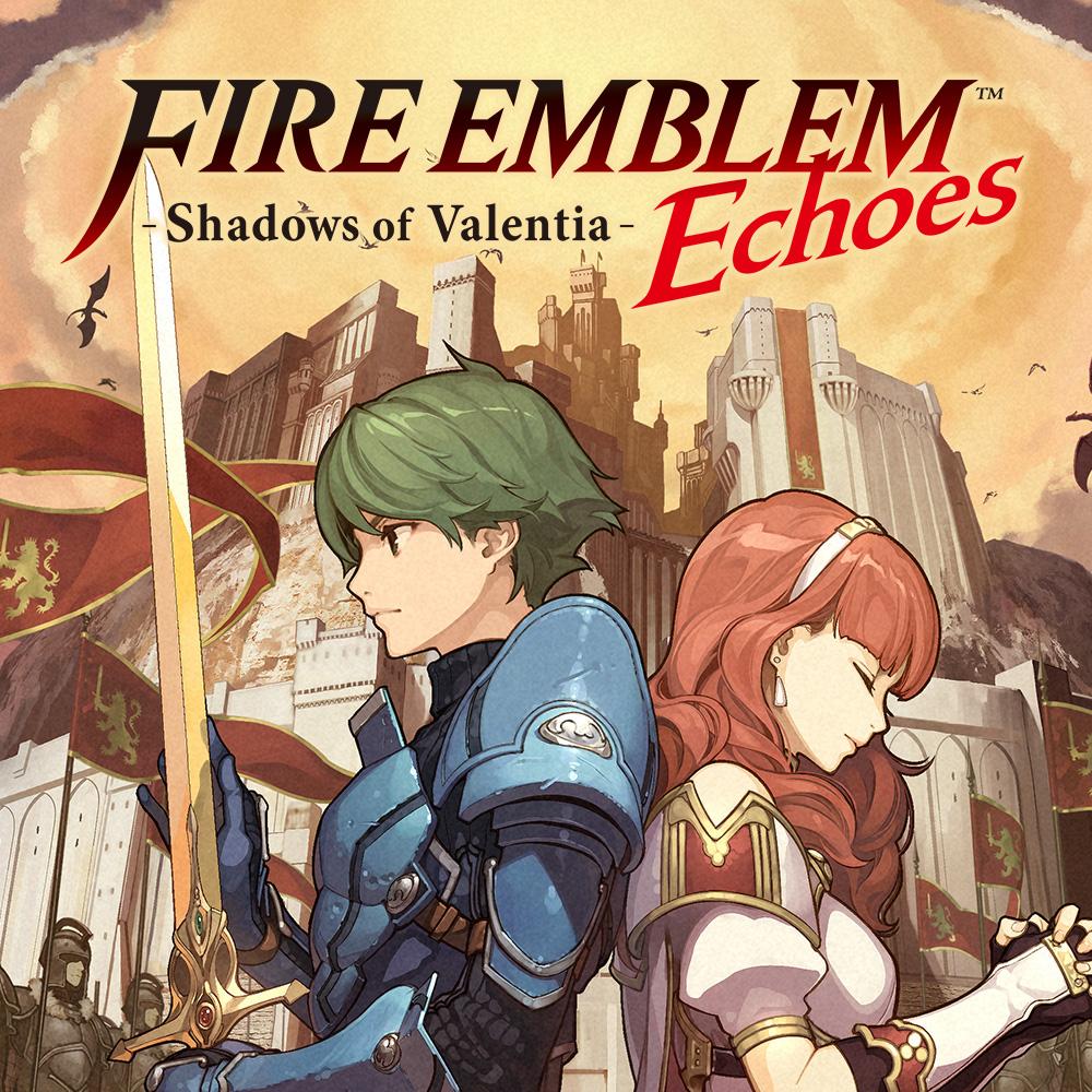 Nintendo eShop Downloads Europe Fire Emblem Echoes Shadows of Valentia