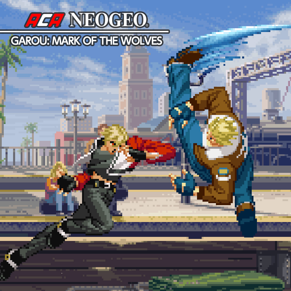 Nintendo eShop Downloads Europe ACA NeoGeo Garou Mark of the Wolves