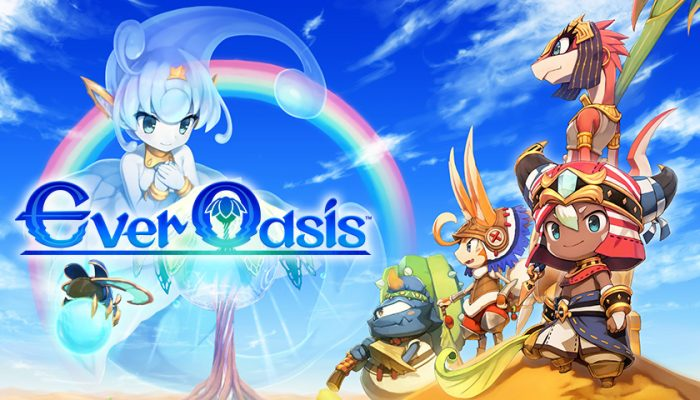 NoA: 'Become chief and defend the last oasis in Ever Oasis'