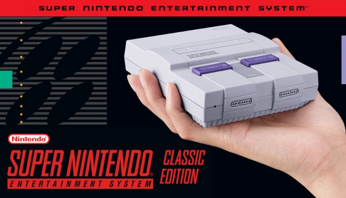 NoA: 'Now you're playing with super power! Nintendo announces Super NES Classic Edition'