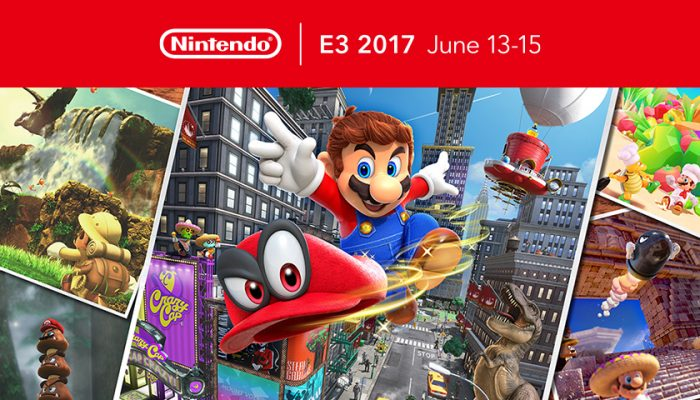 NoA: 'The Nintendo Switch journey comes to E3 to reveal new worlds for Mario's Odyssey'