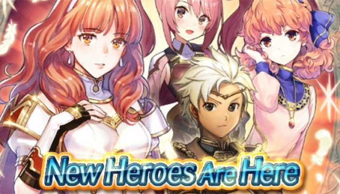 Celica and team are available in Fire Emblem Heroes