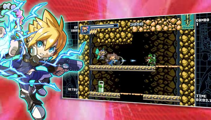 Mighty Gunvolt Burst – Official Trailer