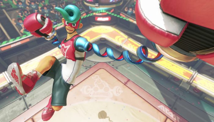 Arms – Spring Man Character Trailer
