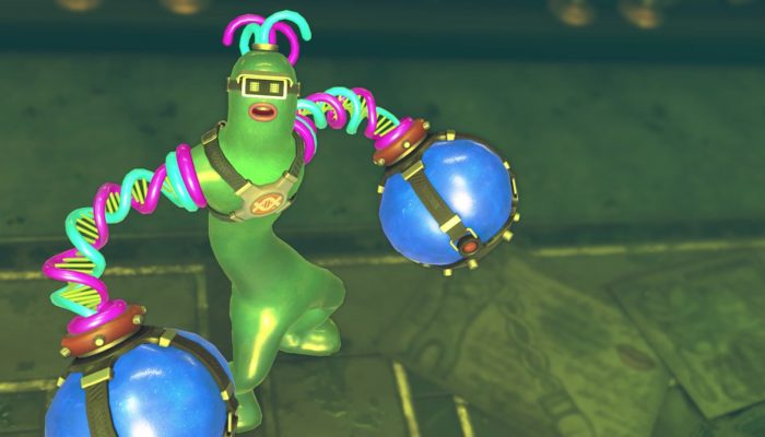 Arms – Helix Character Trailer