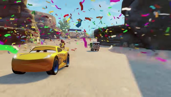 Cars 3: Driven to Win – Gameplay Trailer