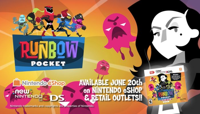 Runbow Pocket – Release Date Trailer