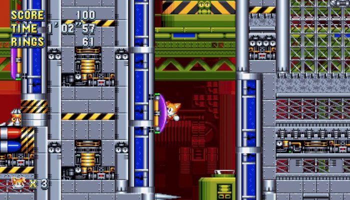 Sonic Mania – Chemical Plant Zone Act 2 Gameplay