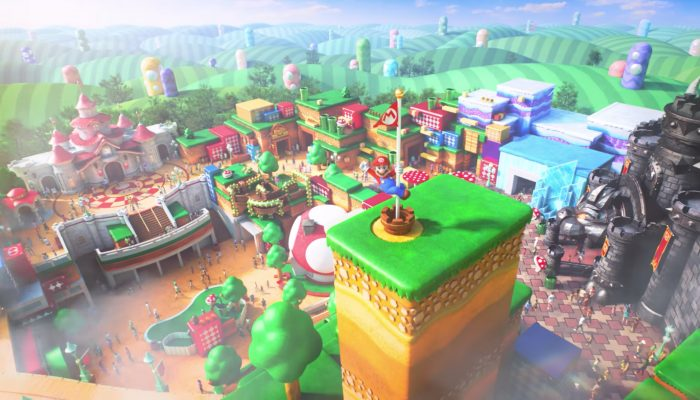 Super Nintendo World – Concept Video & Groundbreaking Ceremony