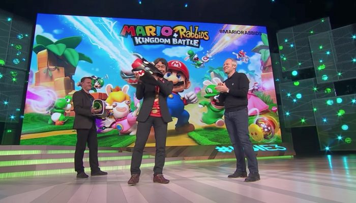 Mario + Rabbids Kingdom Battle – E3 2017 Official Conference Presentation