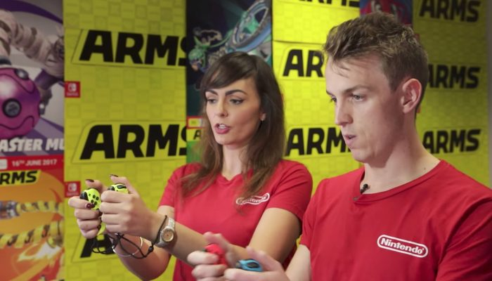 Arms – Nintendo Australia Hands-On with Arms
