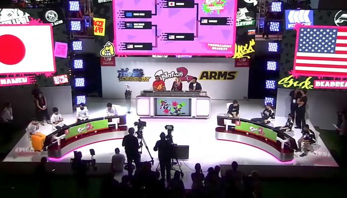 2017 Splatoon 2 World Inkling Invitational – Grand Finals: Japan vs USA (E3 2017)