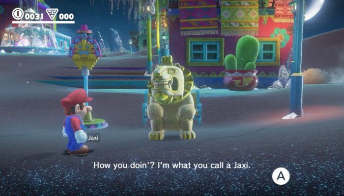Super Mario Odyssey – E3 2017 Sand Kingdom & New Donk City Demonstration