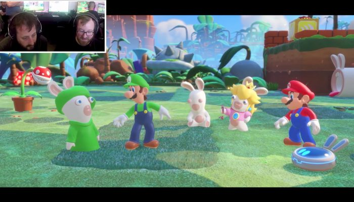 Mario + Rabbids Kingdom Battle – Let's Play Presents Rescue Luigi with Achievement Hunter