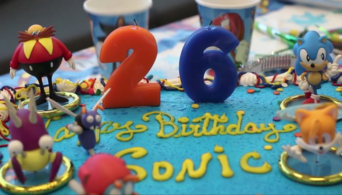 Happy 26th Birthday, Sonic!