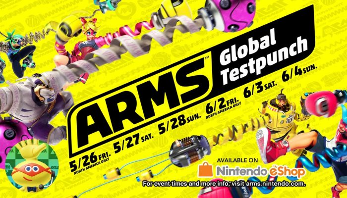 Arms Global Testpunch readily available on Nintendo Switch eShop