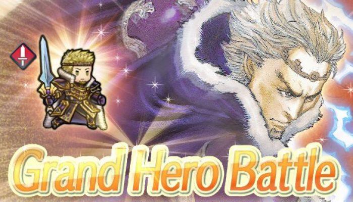 Zephiel is back as a Grand Hero Battle in Fire Emblem Heroes