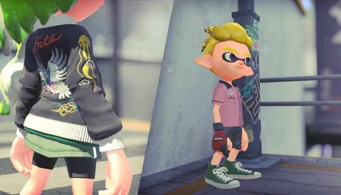 """Kuraagesu"" in Splatoon 2"