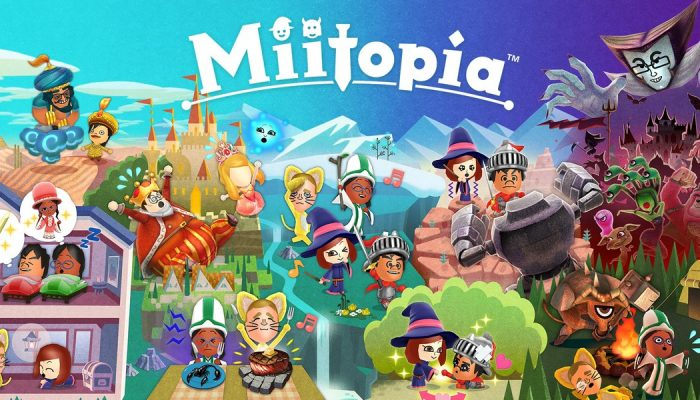 A demo for Miitopia comes to the European eShop on June 22