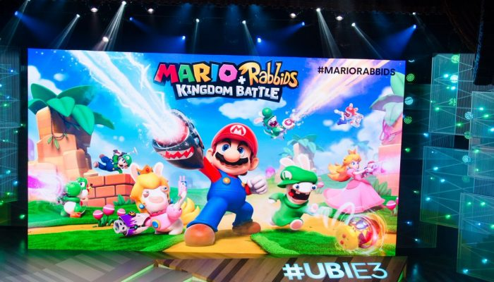 Mario + Rabbids Kingdom Battle announced at Ubisoft's E3 2017 conference