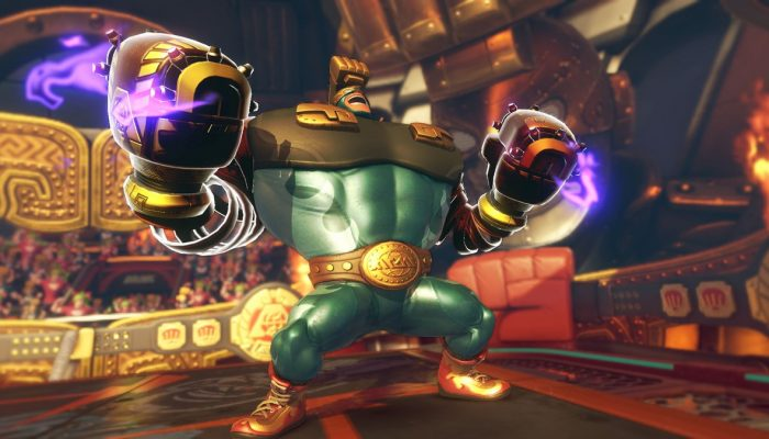 Max Brass announced as free DLC for Arms