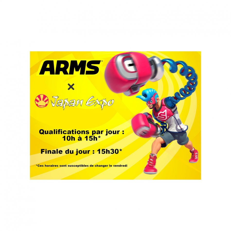 Japan Expo 2017 Arms