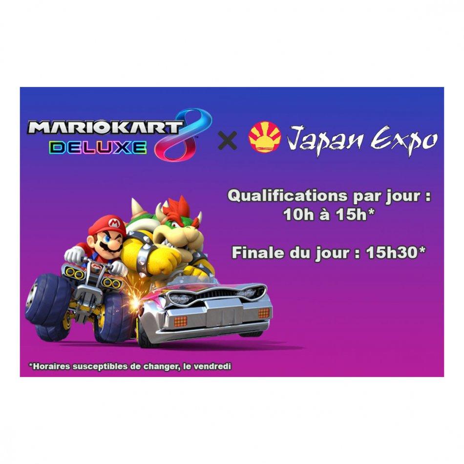Japan Expo 2017 Mario Kart 8 Deluxe