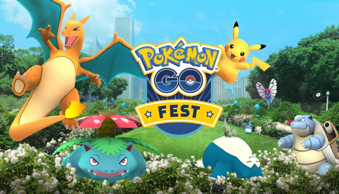Niantic: 'Pokémon Go Fest Chicago Tickets Now on Sale!'