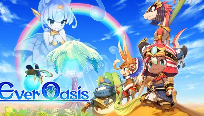 NoE: 'Expand your adventuring horizons at our newly-updated Ever Oasis website!'