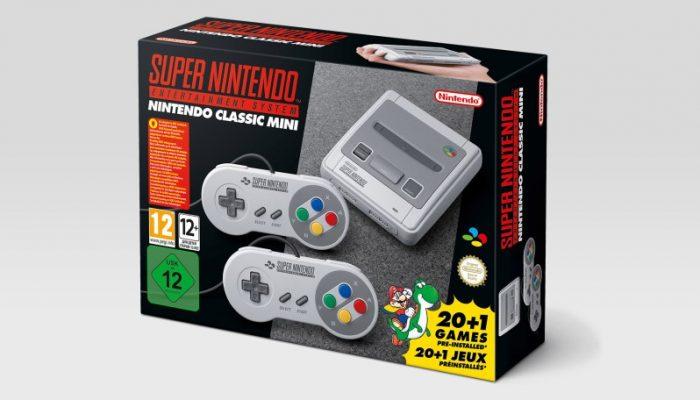 Nintendo France : 'Nintendo annonce la console Nintendo Classic Mini: Super Nintendo Entertainment System'