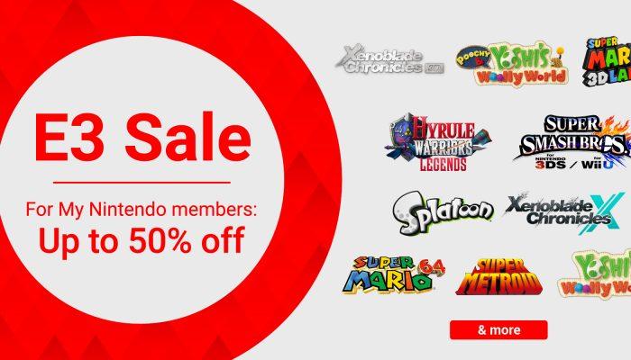 NoE: 'Nintendo eShop sale: E3 Sale'