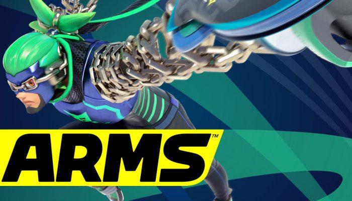 Nintendo France : 'Arms est disponible en boutique et sur le Nintendo eShop'