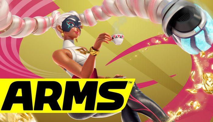 Nintendo France : 'Nous vous dévoilons trois nouveaux combattants de Arms : Twintelle, Byte & Barq et Kid Cobra'