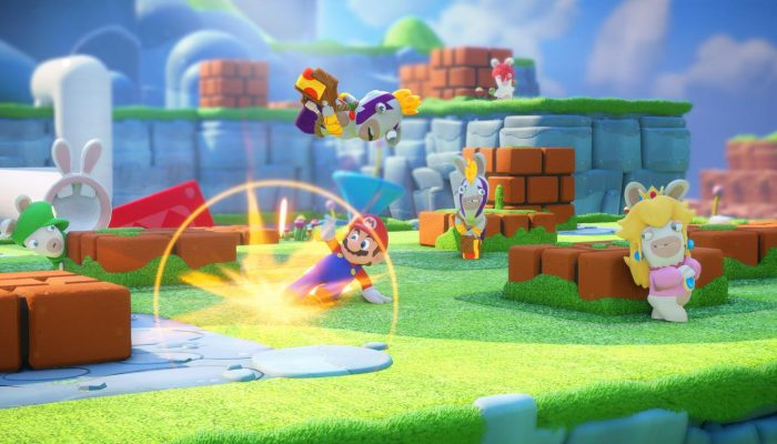Mario + Rabbids Kingdom Battle – Official E3 2017 Screenshots