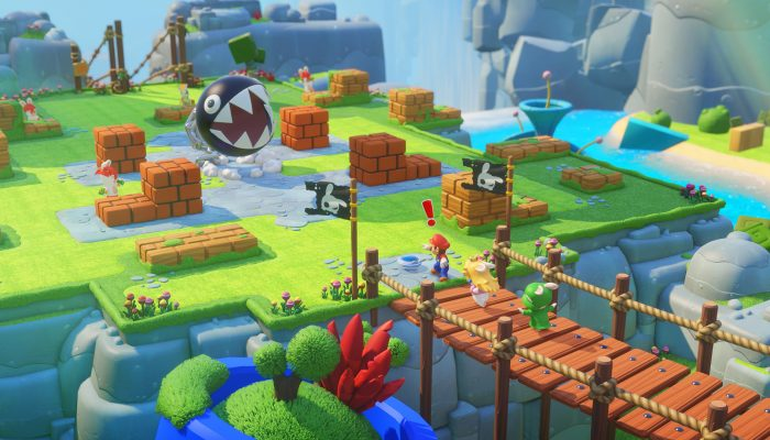 Ubisoft: 'Mario + Rabbids Kingdom Battle Coming to Nintendo Switch on August 29'