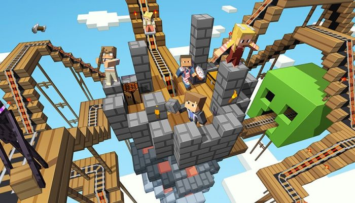Minecraft Realms is coming to Nintendo Switch