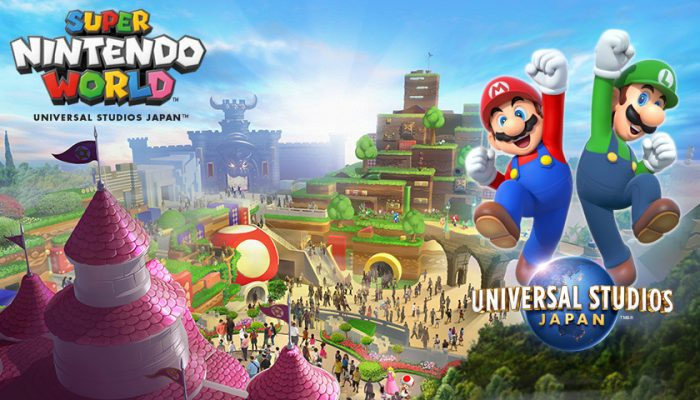 NoA: 'Universal Studios Japan introduces Super Nintendo World'