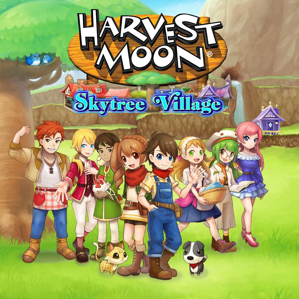 Nintendo eShop Downloads Europe Harvest Moon Skytree Village