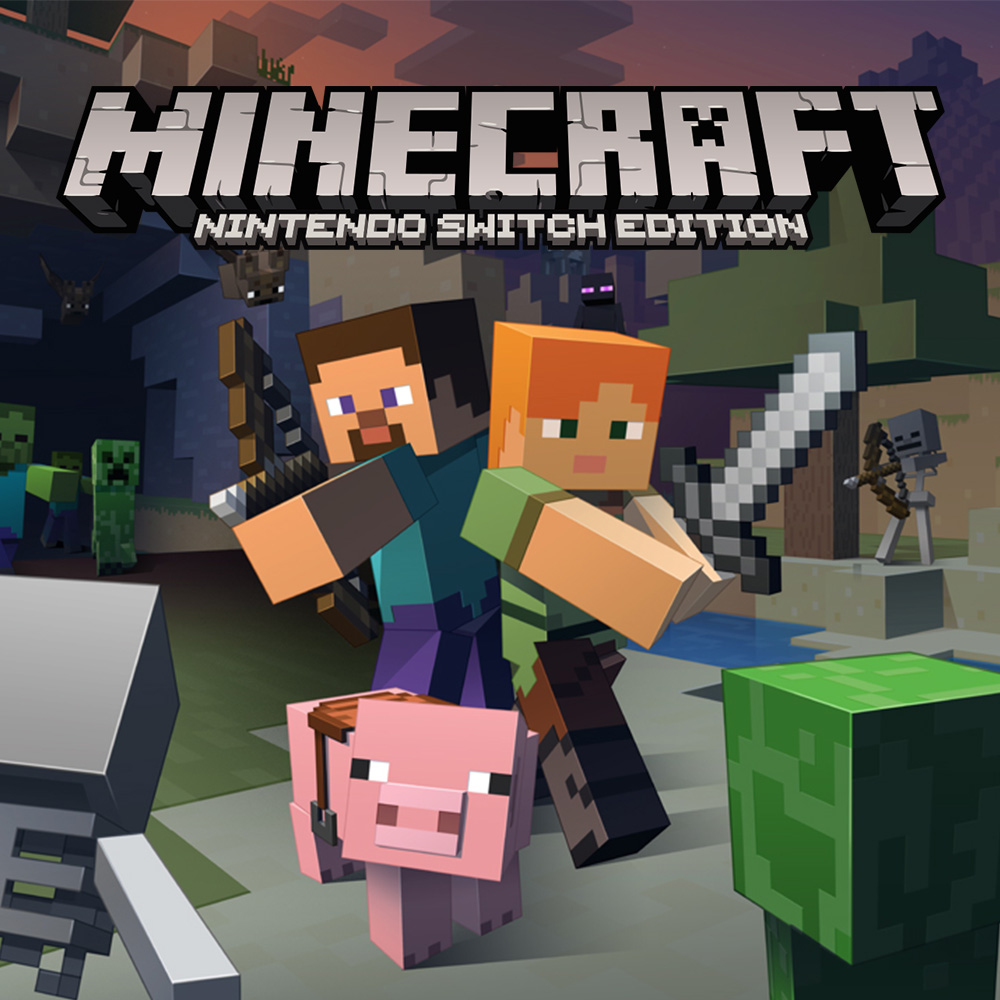 Nintendo eShop Highlights Minecraft Nintendo Switch Edition