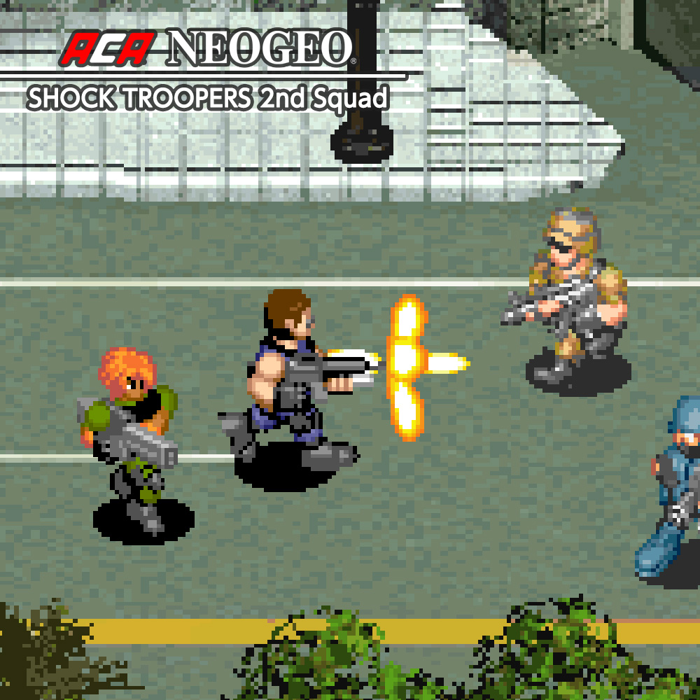 Nintendo eShop Downloads Europe ACA NeoGeo Shock Troopers 2nd Squad