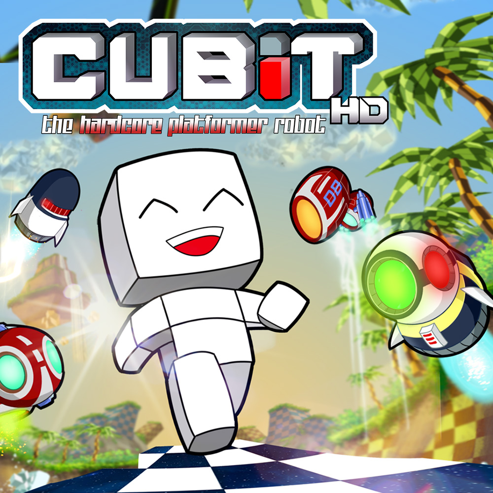 Nintendo eShop Downloads Europe Cubit The Hardcore Platformer Robot HD