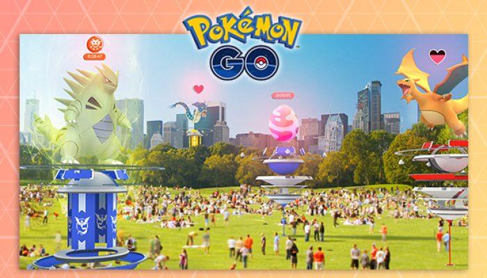 Pokémon: 'Go Big with Updated Gym and New Raid Battles'
