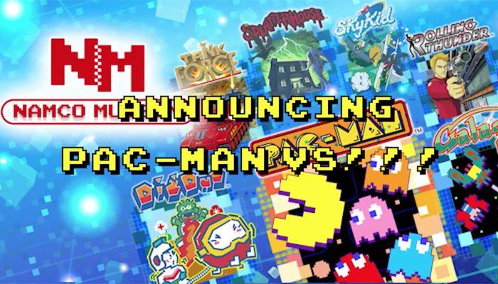 Namco Museum – Pac-Man Vs. Announcement Trailer