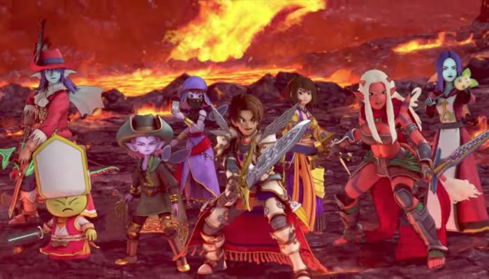 Dragon Quest X Online – Japanese All-in-One Package Overview Trailer