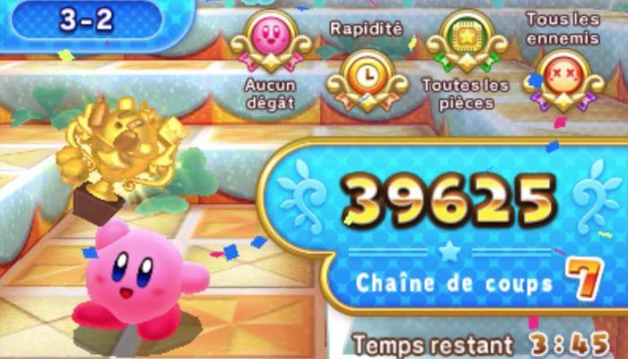 Kirby's Blowout Blast – Bande-annonce de lancement