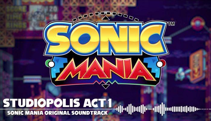 Sonic Mania – Studiopolis Act 1 OST