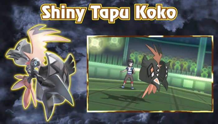 Pokémon Sun & Moon – Add the Power of Shiny Tapu Koko to Your Game!