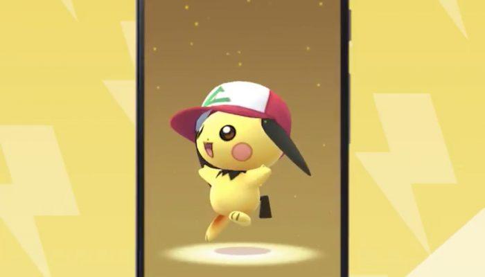 Pichu also dons Ash's hat in Pokémon Go